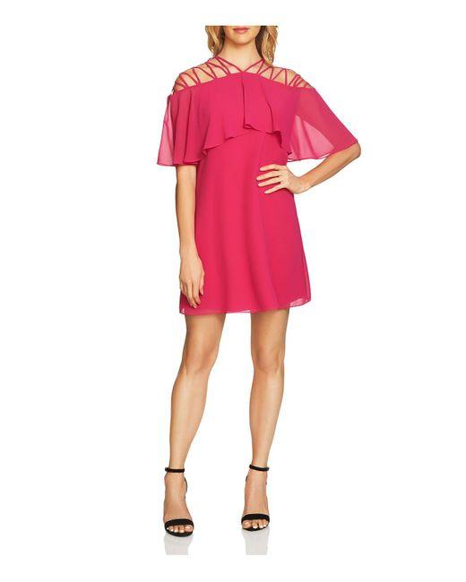Cece by Cynthia Steffe | Pink Taylor Lattice Dress | Lyst