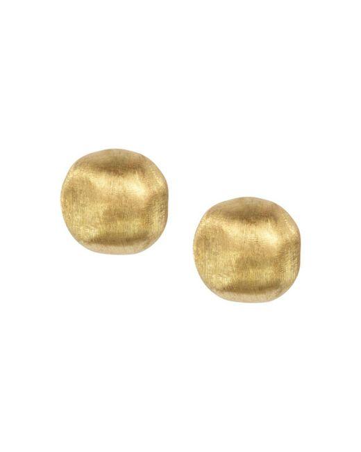 "Marco Bicego - Metallic ""africa"" Large Bead Stud Earrings - Lyst"