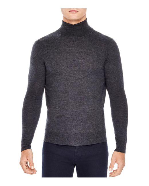 Sandro | Gray Turtleneck Sweater for Men | Lyst