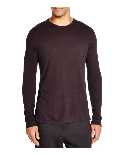 T By Alexander Wang | Black Classic Long Sleeve Tee for Men | Lyst