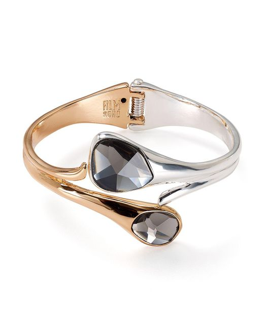 Robert Lee Morris | Multicolor Two-tone Bypass Hinge Cuff | Lyst