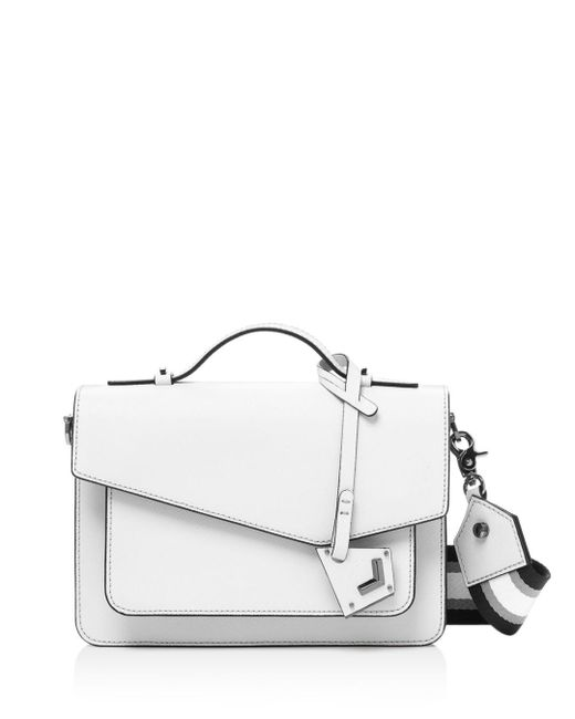 Botkier - White Cobble Hill Leather Crossbody - Lyst