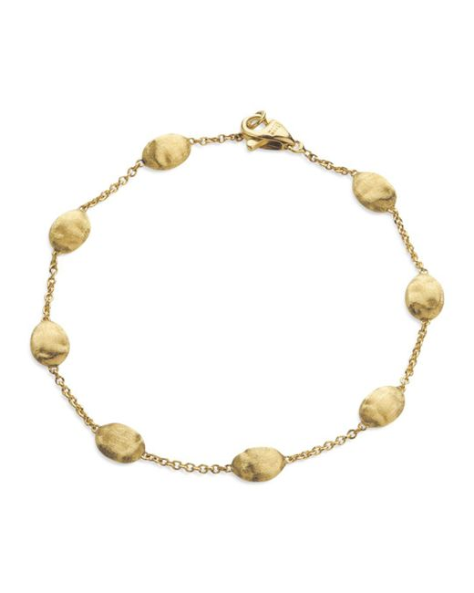 "Marco Bicego - Metallic ""siviglia Collection"" Bracelet In 18 Kt. Yellow Gold - Lyst"