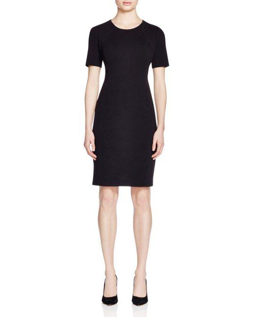 T Tahari - Black Judianne Sheath Dress - Lyst