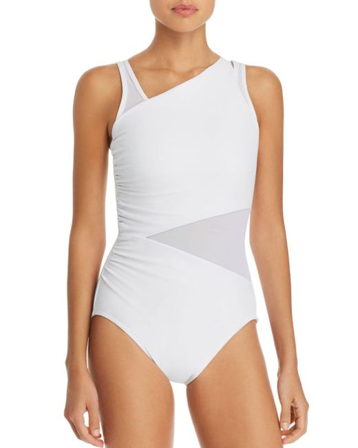 Miraclesuit - White Illusionists Azura One Piece Swimsuit - Lyst