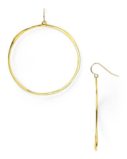 Gorjana - Metallic G Ring Circle Drop Earrings - Lyst