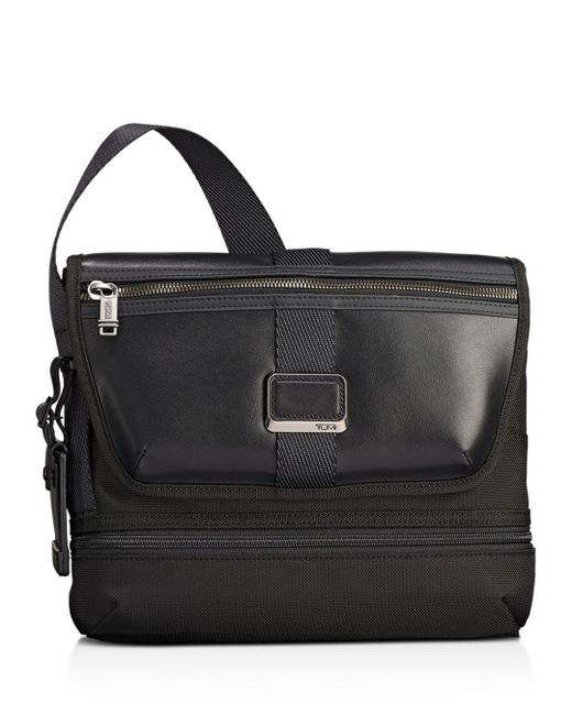Tumi - Black Alpha Bravo Travis Crossbody Bag for Men - Lyst