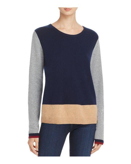 Soft Joie | Blue Uriela Color-block Sweater | Lyst