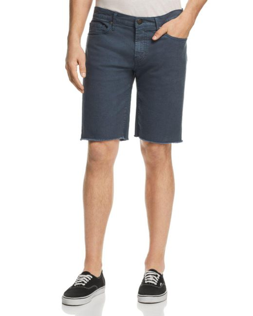 J Brand - Blue Eli Regular Fit Cutoff Shorts for Men - Lyst