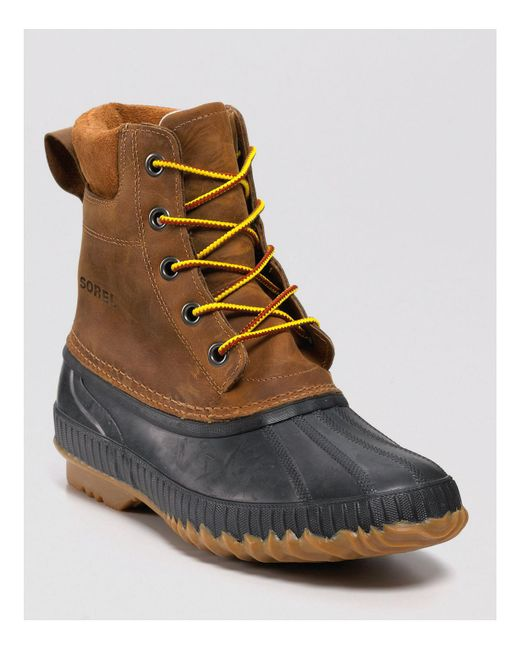 Sorel | Brown Cheyanne Waterproof Boots for Men | Lyst