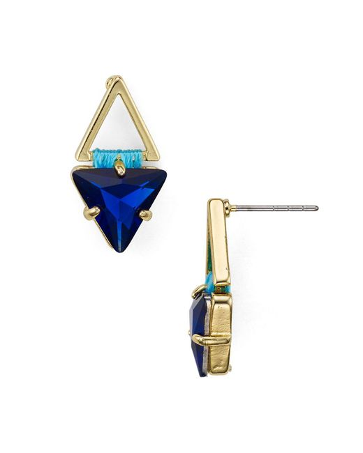 Rebecca Minkoff | Multicolor Stud Earrings | Lyst