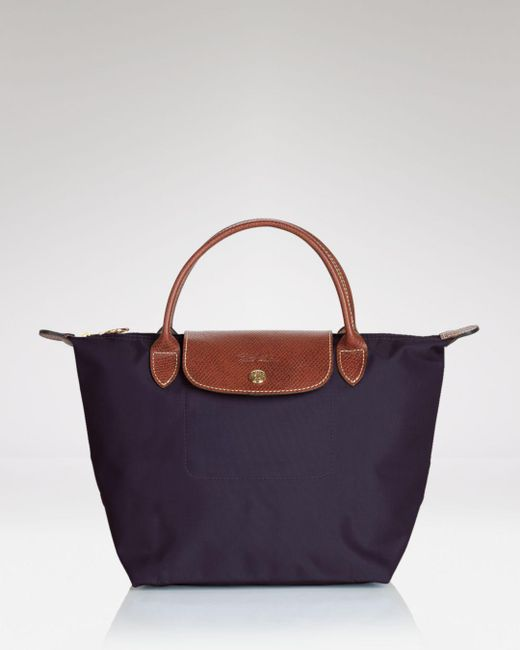 Longchamp - Purple Le Pliage Mini Tote - Lyst