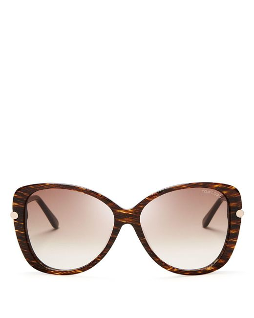 Tom Ford - Brown 59mm - Lyst