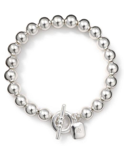 Ralph Lauren - Metallic Lauren Bracelet - Beaded Bracelet - Lyst