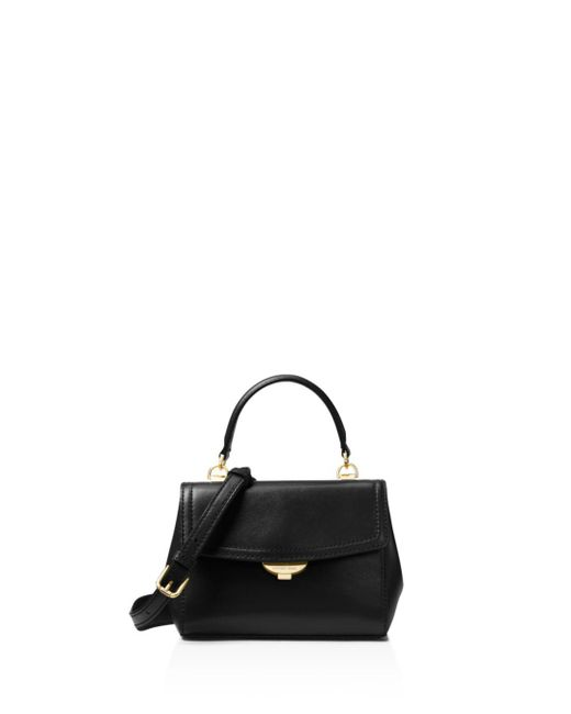 MICHAEL Michael Kors - Black Michael Kors Extra Small Leather Crossbody - Lyst