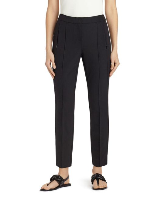 Lafayette 148 New York - Black Orchard Slim Pants - Lyst
