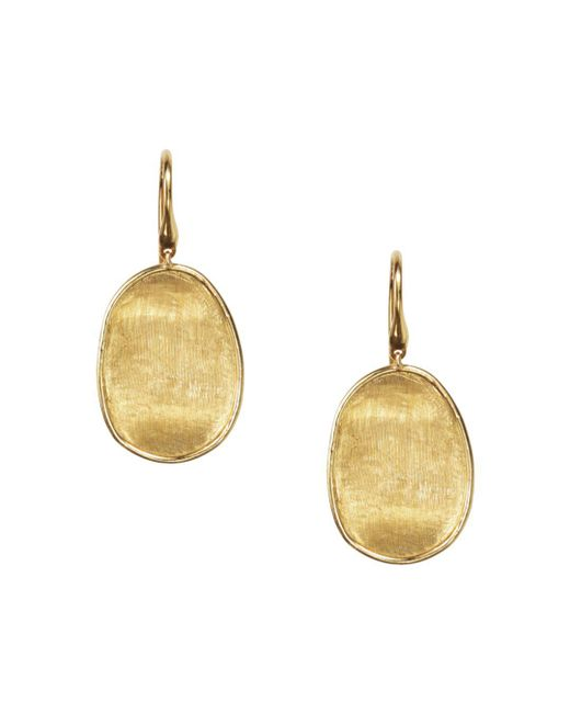 Marco Bicego - Metallic 18k Yellow Gold Lunaria Drop Earrings - Lyst