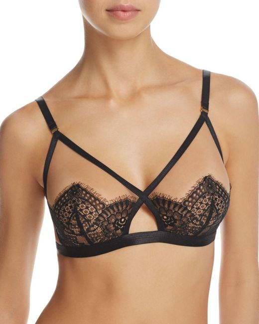 Dita Von Teese - Black Glamonatrix Wireless Bra - Lyst