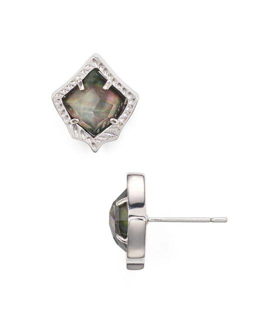 Kendra Scott   Multicolor Kirstie Stud Earrings   Lyst