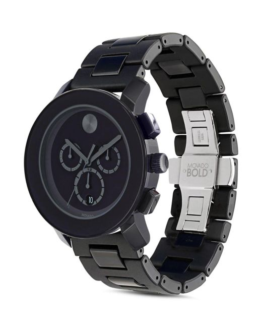 Movado - Black Bold Large Chronograph Watch for Men - Lyst