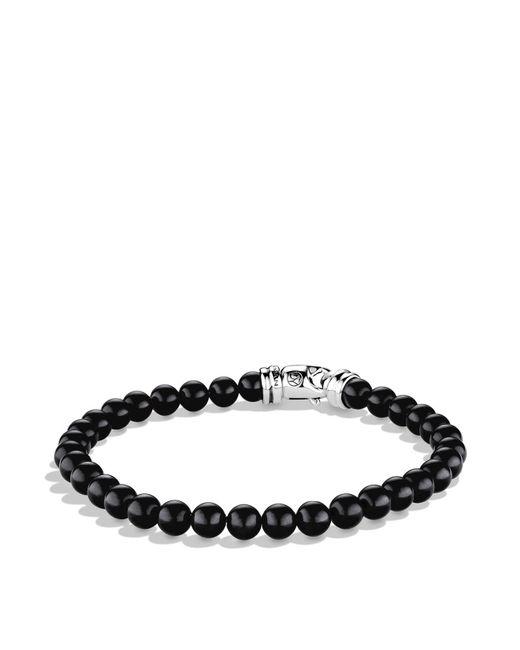 David Yurman | Metallic Spiritual Beads Bracelet With Black Onyx for Men | Lyst