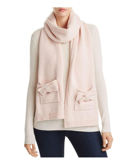 Kate Spade | Multicolor Bow Scarf | Lyst