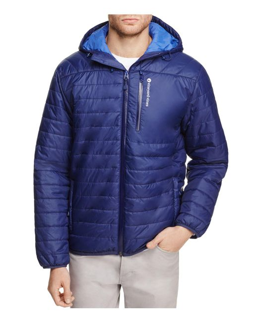 Vineyard Vines | Blue Mountain Weekend Hooded Puffer Jacket for Men | Lyst