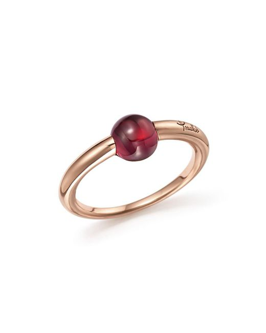 Pomellato - Pink M'ama Non M'ama Ring With Rhodolite Garnet In 18k Rose Gold - Lyst