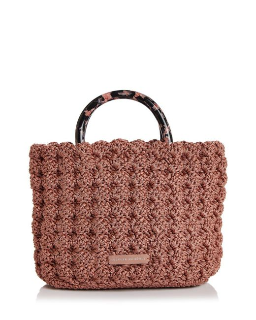 Loeffler Randall - Multicolor Audrey Small Woven Tote - Lyst