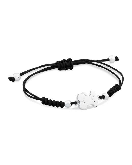 Tous - Metallic Bear Nylon Cord Bracelet - Lyst