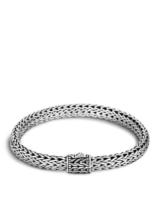John Hardy | Metallic Classic Chain Sterling Silver Small Bracelet | Lyst