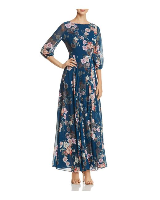 Yumi Kim | Blue Woodstock Floral Print Maxi Dress | Lyst