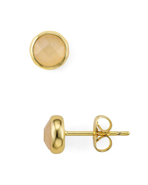 Gorjana - Multicolor Stone Stud Earrings - Lyst