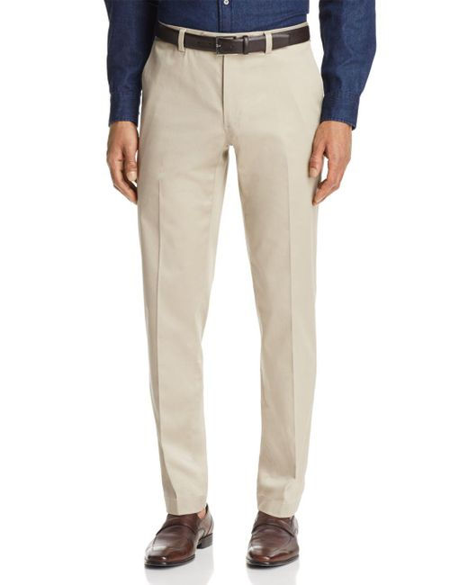 Brooks Brothers - Natural Marco Stretch Chinos for Men - Lyst