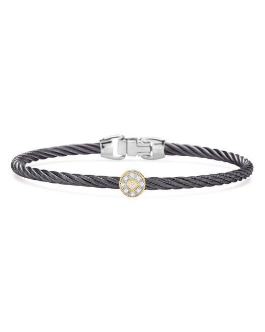 Alor - Metallic Single Station Cable Bangle Bracelet - Lyst