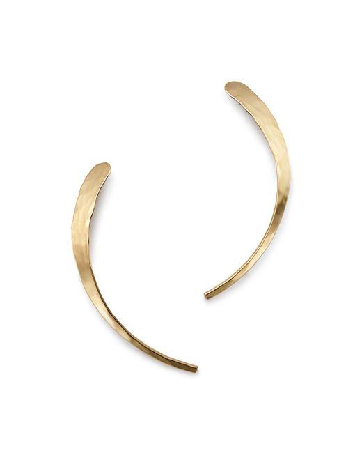 Bloomingdale's - Metallic Half Moon Ear Climbers In 14k Yellow Gold - Lyst