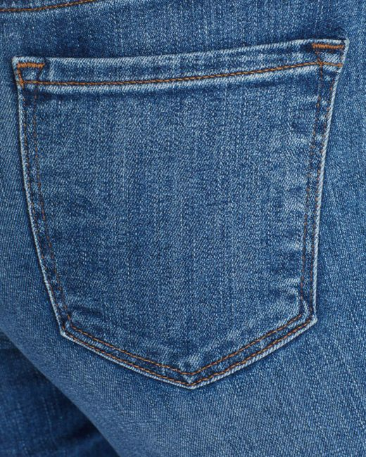 deaf80dd89c7b ... J Brand - Blue Mama J Skinny Capri Maternity Jeans In Indiana - Lyst