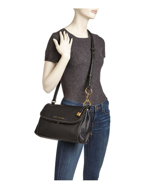 Lyst Marc Jacobs The Boho Grind Leather Crossbody In Black