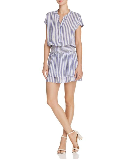 Rails - Blue Angelina Striped Drop-waist Dress - Lyst