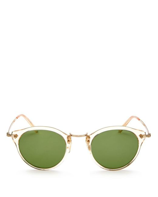 Oliver Peoples - Green 44mm for Men - Lyst