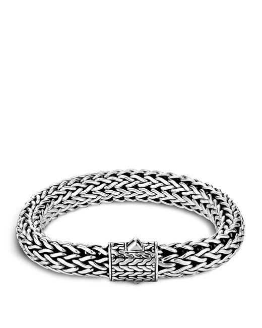 John Hardy | Metallic Men's Sterling Silver Large Chain Bracelet for Men | Lyst