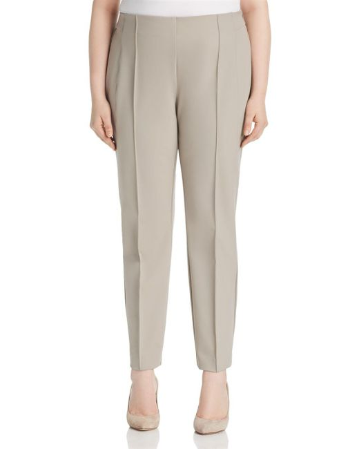Lafayette 148 New York Multicolor Pintuck City Pants