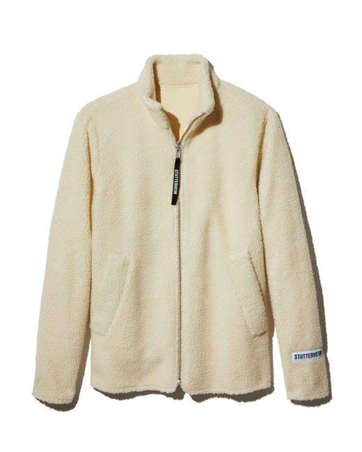 Stutterheim - White Varby Fleece Jacket for Men - Lyst