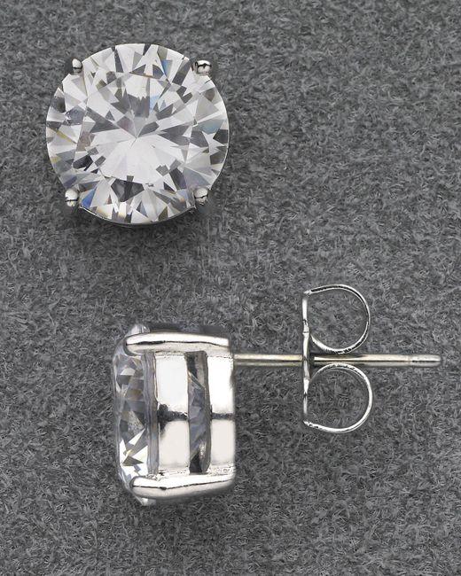 Nadri | Metallic Large Stud Earrings | Lyst