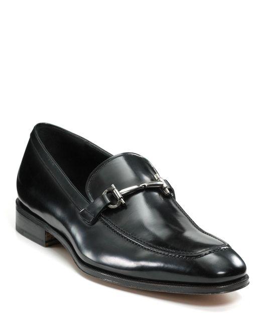 Ferragamo | Black 'fenice' Loafer for Men | Lyst