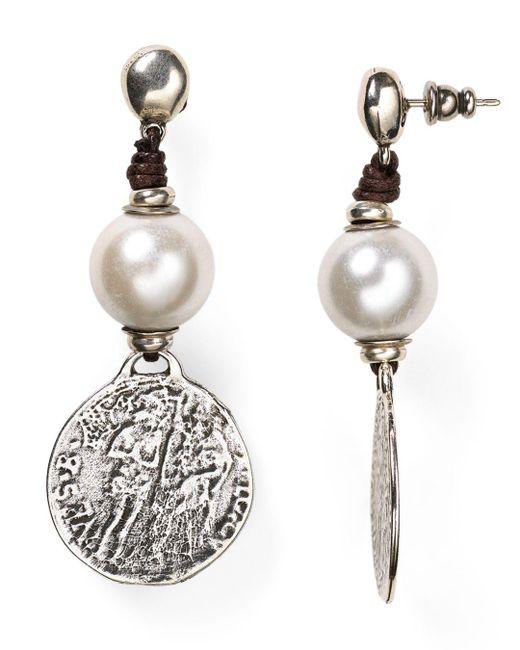 Uno De 50 - Metallic Alexandria Earrings - Lyst