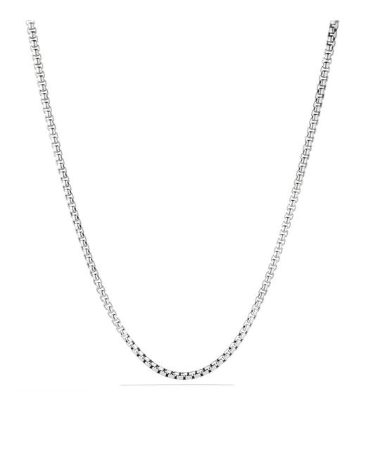 "David Yurman - Metallic 22"" - Lyst"