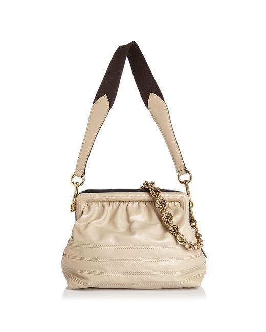 Marc Jacobs | Metallic Swinger Leather Shoulder Bag | Lyst