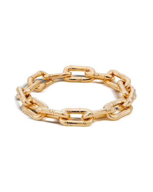 John Hardy | Metallic Bamboo 18k Gold Small Link Bracelet | Lyst