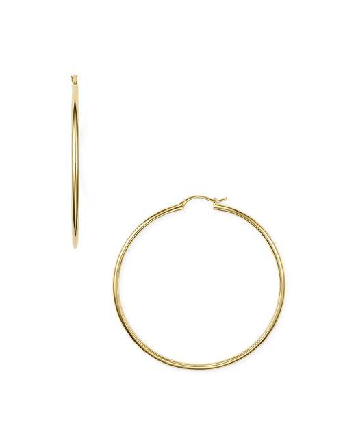 Nadri | Metallic Hoop Earrings | Lyst